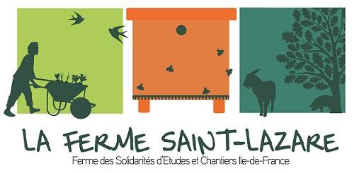 La Ferme Saint-Lazare / Ferme pédagogique Essonne Logo